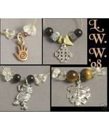 Four Pagan Wiccan Necklaces w/ real gemstone beads NEW - $18.99