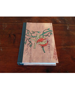 Asian Look Small Handcrafted Journal with Two Birds on Cover Blank Pages - $9.89