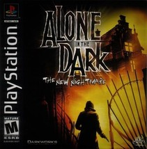 Alone In The Dark The New Nightmare PS1 Great Condition Fast Shipping - $17.94