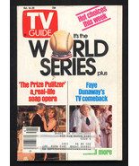 TV Guide October 14 1989- Rochester edition World Series - $18.62