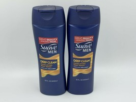 Suave Men Deep Clean Exfoliating Body Wash 15 Oz. Sandalwood 2-Pack - $14.99