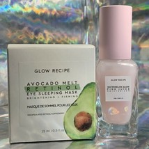 Glow Recipe Watermelon Pink Juice 25mL + Avocado Retinol Eye Sleeping Mask 15mL image 1