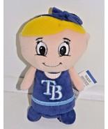 """Tampa Bay Rays MLB Blonde Girl Fan Mini 4"""" Plush Stuffed Animal - $17.82"""