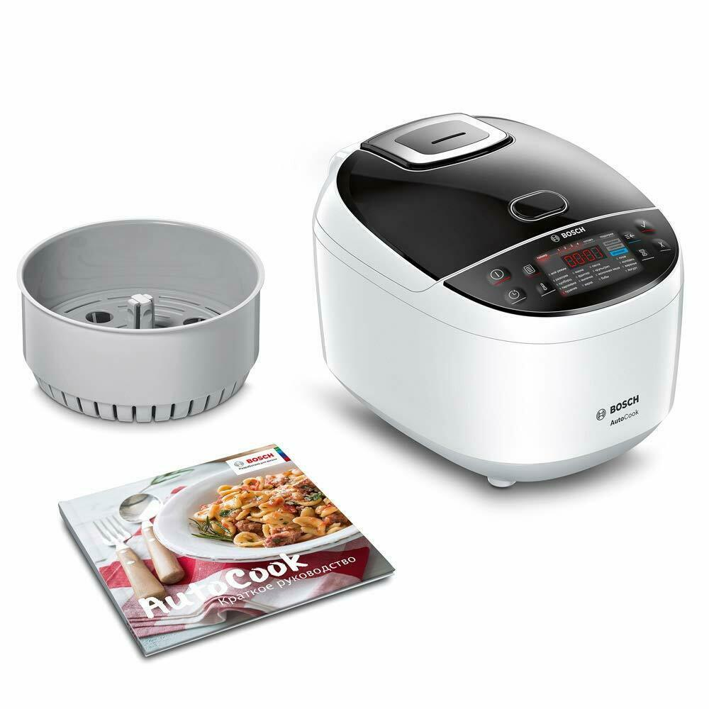 Bosch Autocook MUC11W12- Pot Express Electric Stainless Steel, Bowl Of 169.1oz - $432.02
