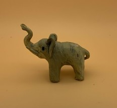 """Vintage~Hand Carved~Lucky Elephant~2.5""""x3""""~Very Light~Material Unknown - $11.88"""