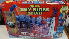 Spiderman Sky Rider Toy Biz Exclusive Playset New Sealed rare - $215.05