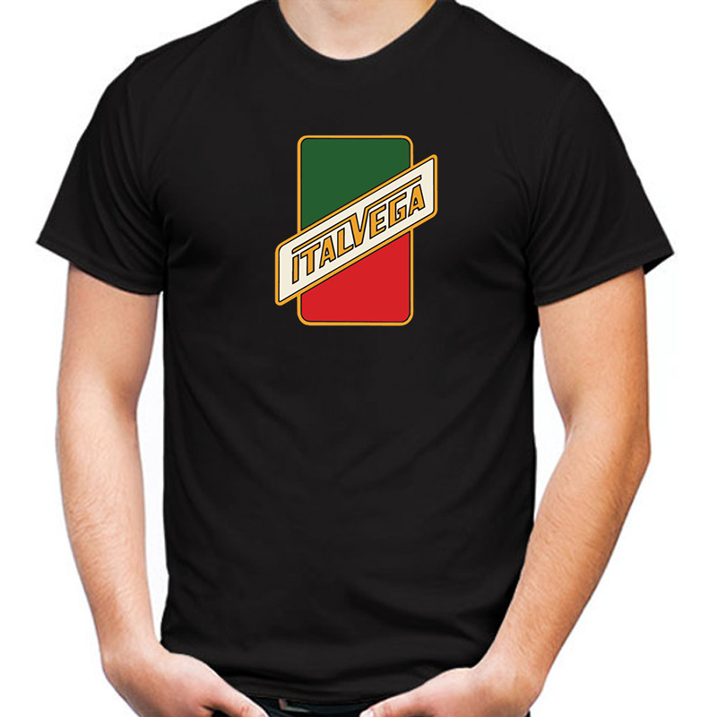Primary image for ItalVega Bicycles Company T-shirt Black Color Short Sleeve Size S-3XL