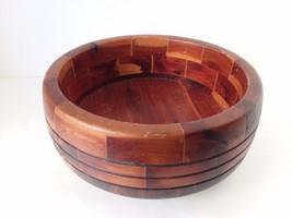 """Mix Color Wood Pedestal Bowl 8"""" X 4""""  - €26,05 EUR"""