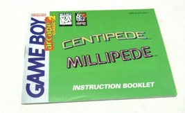 Centipede Millipede Nintendo Gameboy Original Game Instruction Manual Booklet - $7.64
