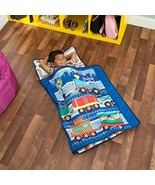 EVERYDAY KIDS Toddler Nap Mat with Removable Pillow -Choo Choo Train- Ca... - $20.22