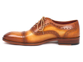 Color Tan 024 Oxfords Men's Paul Parkman ID Captoe TAN wgXRUP