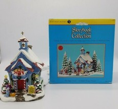Dept 56 Storybook Village Collection The Night Before Christmas Village ... - $59.28