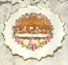 "Vintage Last Supper - Decorative Plate for Walls 7"" image 4"