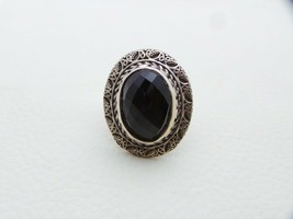 925 Solid Sterling Silver Ring Natural Onyx Gemstone 62.30-Carat US Ring... - $45.14