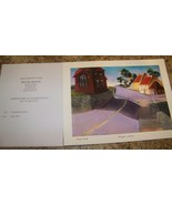 LOT 8 FRANK MONTE EAST ROCHESTER NY GICLEE PRINT SIGNED LIMITED ED PORTF... - $49.49