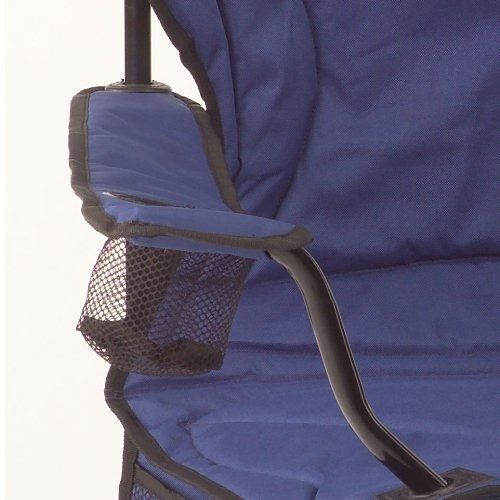 Coleman Oversized Folding Quad Chair Outdoor Camping Beach Fishing with Cooler