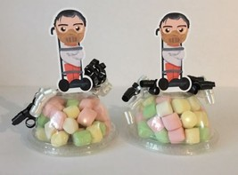 Hannibal Lecter Party Favors Candy Containers Set Of 8 (EMPTY) - $14.50