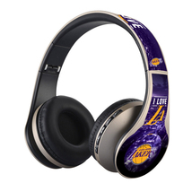 Lakers Gold Headphones FM, Bluetooth & SD CARD - $26.00