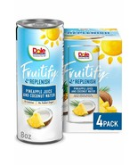 Dole Fruitify Replenish Pineapple Juice & Coconut Water 8 oz (Pack Of 4) - $16.78