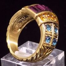 Heidi daus clearly classic blue topaz amethyst citrine colored crystal ring sz 6 6 thumb200