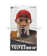 King J Premium Velvet Dome Cap Men's Doo Rag Bandana Hats #2014 Assort *... - $3.91