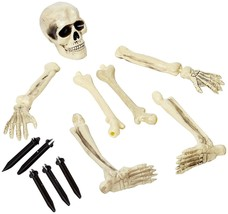 Amscan Creepy Cemetery Halloween Party Escaping Skeleton Yard Stake Deco... - £18.37 GBP