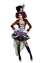 Dreamgirl Rave Hatter Madness Libro di Racconti Donne Adulte Costume Hal... - $58.87