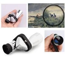 New Mini Pocket 8x20 HD Corner Optical Monocular Telescope Eyepiece for ... - $14.15