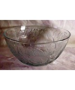 """Made In Indonesia Pressed Leaves And Fruit Salad Fruit Bowl 10 1/4"""" - $6.23"""