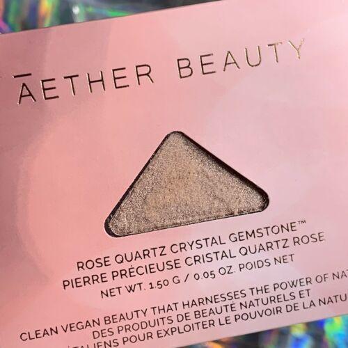 Sealed New Aether Beauty Single Rose Quartz Crystal Gemstone Multi Use Highlight