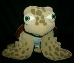 "16"" DISNEY STORE PIXAR FINDING NEMO CRUSH GREEN TURTLE STUFFED ANIMAL PL... - $18.70"