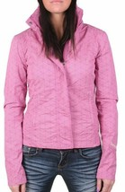 Bench Urbanwear Womens BBQ II Barbecue Pink Jacket w Hood BLKA1830 NWT image 1