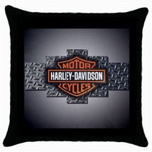 THROW PILLOW CASE HARLEY DAVIDSON - $22.99