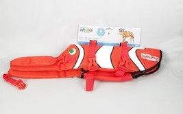 Outward Hound RipStop Fun Fish Dog Life Jacket Reflective Flotation Vest... - $32.00