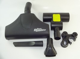 Shark Roadster Canister Bagless Vacuum Cleaner Attachments Lot 2 Heads + more - $48.99