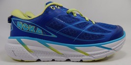 Hoka One One Clifton 2 Women's Running Shoes Size US 9.5 M (B) EU 42 Blue Yellow