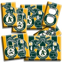 A'S OAKLAND ATHLETICS BASEBALL TEAM LIGHT SWITCH OUTLET WALL PLATE COVER... - $9.99+