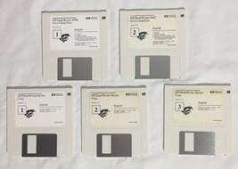 """Vintage HP Hewlett-Packard Deskwriter 550C 3.5"""" Diskettes Driver Utiliti... - $9.89"""