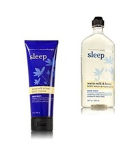 Bath & Body Works Aromatherapy Sleep Warm Milk & Honey Body Cream & Body... - $60.00
