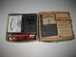 Micronta 18-Range Multitester, 22-201U, 20,000 V DC, 10,000 V AC - $27.71