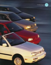 1995 VOLKSWAGEN deluxe US brochure GTI GOLF JETTA PASSAT CABRIO VW 95 US - $8.00