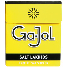 Ga-Jol SALZLAKRITZ Salted Licorice chews - DOUBLE PACK - 50g - $3.81