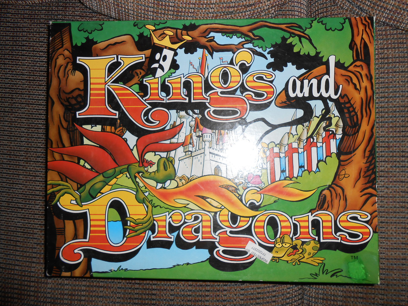 Kings and Dragons Game Northern Games