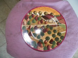 Block Country Village Fall salad plate 1 available - $2.72