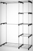 Freestanding Closet Hanger Organizer Storage Po... - $65.09