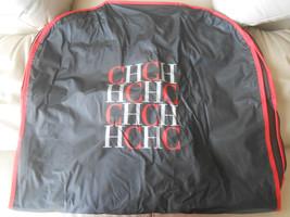 Carolina Herrera Garment Bag Travel Storage Red Black Authentic Designer - $49.99