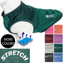Pet Life 'Aero-Pawlse' Quick-Dry and 4-Way Stretch Dog Tank Top T-Shirt - $17.54