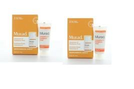 2 x Murad Environmental Shield Intensive C Radiance Peel 0.33oz/10ml TRAVEL - $5.93