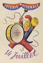 French National Lottery - Art Print - $19.99+