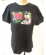 Dale Earnhardt Jr Womens Shirt Black 2008 NASCAR Series  EUC! 88 Chase Size XL - $26.25